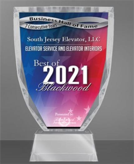 South Jersey Elevator Wins Best of Blackwood Award!